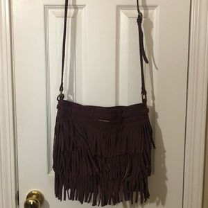 Fringe Suede Lucky Brand Bag